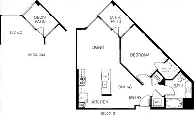 1 Bedroom, Downtown Pasadena Rental in Los Angeles, CA for $2,770 - Photo 1