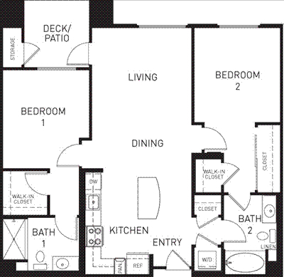 2 Bedrooms, Downtown Pasadena Rental in Los Angeles, CA for $3,368 - Photo 1