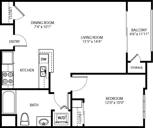 1 Bedroom, Palms Rental in Los Angeles, CA for $3,160 - Photo 1