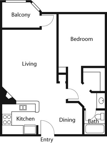 1 Bedroom, McNeil Rental in Los Angeles, CA for $2,307 - Photo 1
