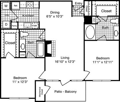 2 Bedrooms, Reserve at Potomac Yard North Rental in Washington, DC for $2,227 - Photo 1