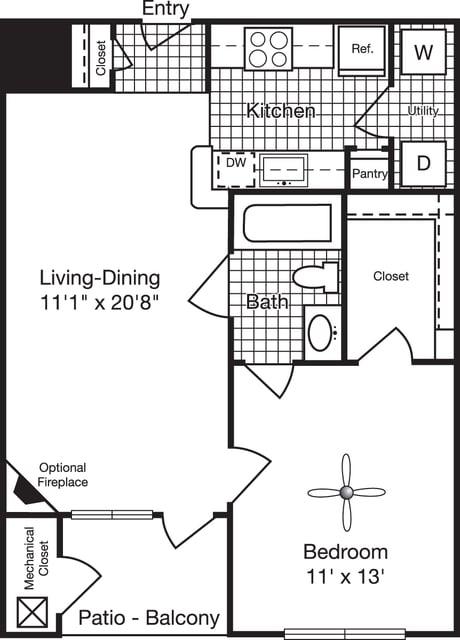 1 Bedroom, Reserve at Potomac Yard North Rental in Washington, DC for $1,631 - Photo 1