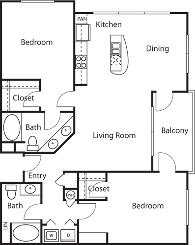 2 Bedrooms, Woodland Hills-Warner Center Rental in Los Angeles, CA for $2,894 - Photo 1