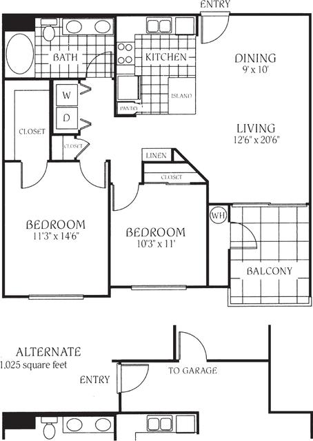 2 Bedrooms, Valencia Rental in Santa Clarita, CA for $2,700 - Photo 1