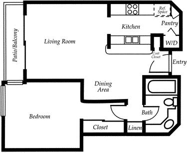 1 Bedroom, Woodland Hills-Warner Center Rental in Los Angeles, CA for $2,239 - Photo 1