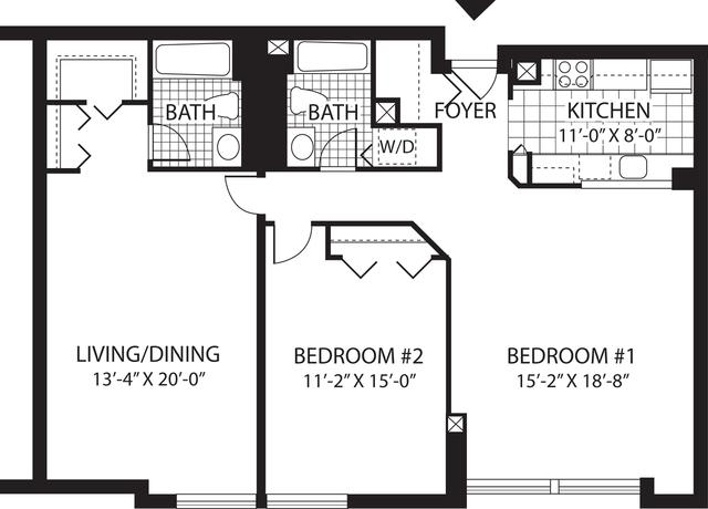 2 Bedrooms, Malden Center Rental in Boston, MA for $3,150 - Photo 1