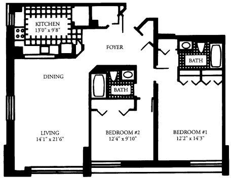 2 Bedrooms, Malden Center Rental in Boston, MA for $3,105 - Photo 1