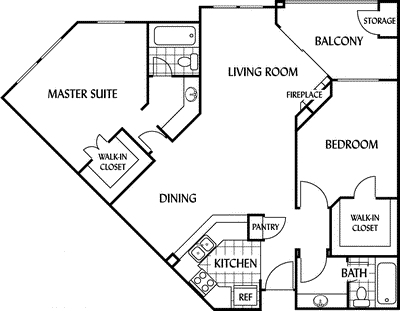 2 Bedrooms, Toscana Apartments Rental in Los Angeles, CA for $3,625 - Photo 1