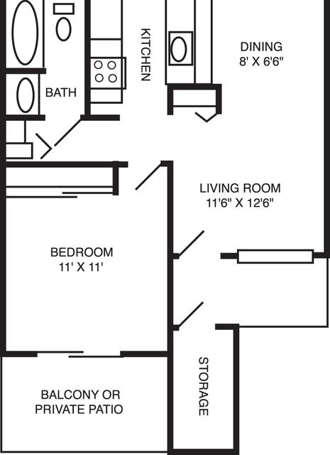 1 Bedroom, West Murphy Rental in San Francisco Bay Area, CA for $2,256 - Photo 1