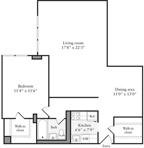 1 Bedroom, Upper West Side Rental in NYC for $4,380 - Photo 1