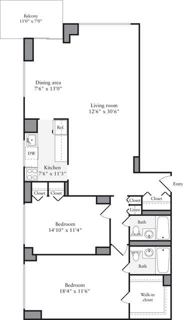 2 Bedrooms, Murray Hill Rental in NYC for $5,387 - Photo 1