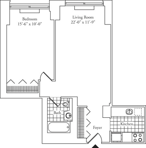 1 Bedroom, Lincoln Square Rental in NYC for $3,728 - Photo 1