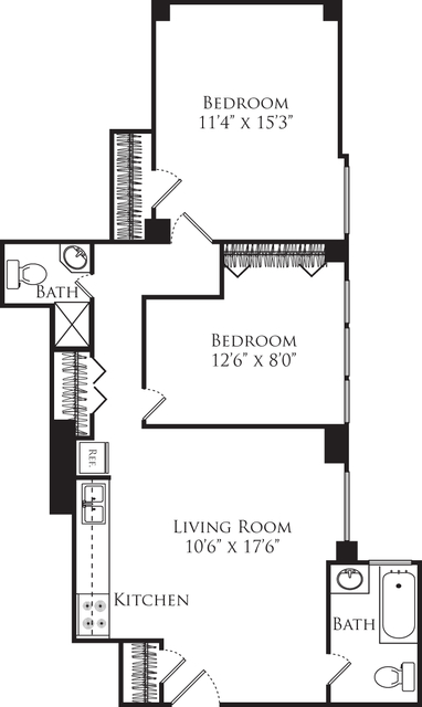 2 Bedrooms, Lincoln Square Rental in NYC for $3,335 - Photo 1