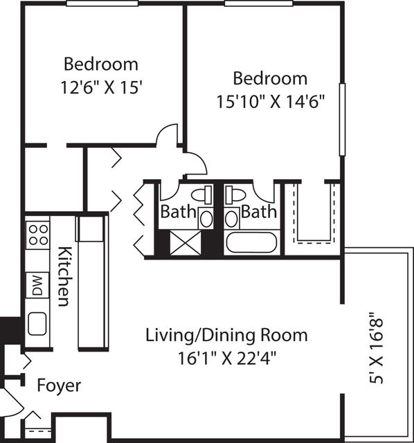 2 Bedrooms, West End Rental in Boston, MA for $4,030 - Photo 1