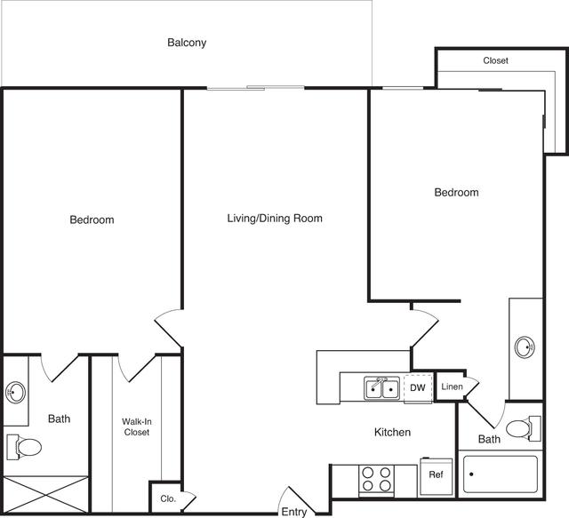 2 Bedrooms, Marina del Rey Rental in Los Angeles, CA for $3,117 - Photo 1
