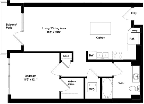 1 Bedroom, South of Market Rental in San Francisco Bay Area, CA for $3,398 - Photo 1
