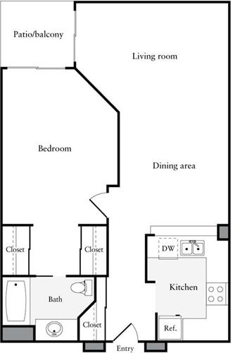 1 Bedroom, Verdugo Viejo Rental in Los Angeles, CA for $2,236 - Photo 1
