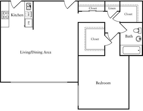 1 Bedroom, Woodley Park Rental in Washington, DC for $1,725 - Photo 1