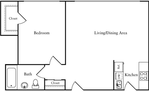 1 Bedroom, Woodley Park Rental in Washington, DC for $2,118 - Photo 1