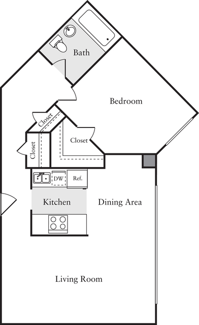 1 Bedroom, Woodley Park Rental in Washington, DC for $1,875 - Photo 1