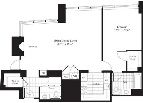 1 Bedroom, Ballston - Virginia Square Rental in Washington, DC for $3,013 - Photo 1