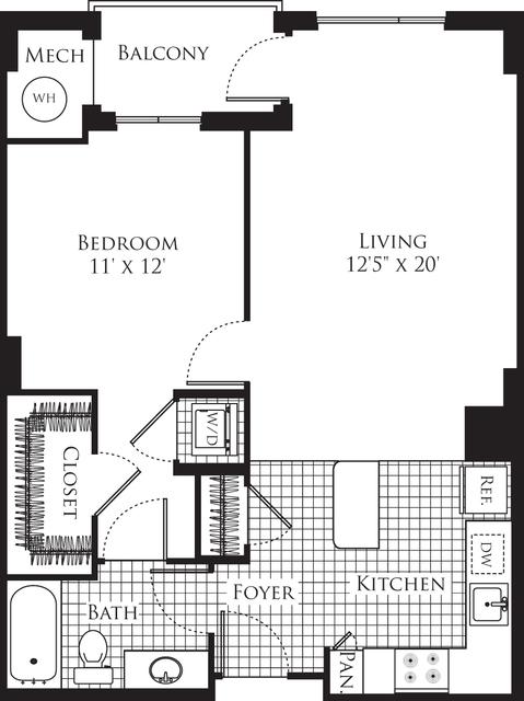 1 Bedroom, Silver Spring Rental in Washington, DC for $2,031 - Photo 1