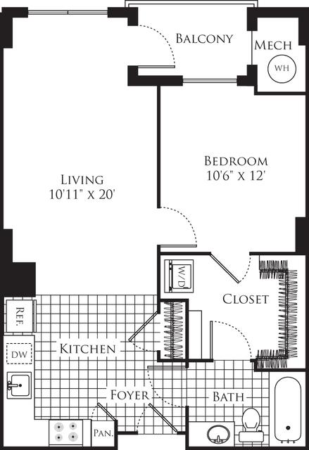 1 Bedroom, Silver Spring Rental in Washington, DC for $2,020 - Photo 1