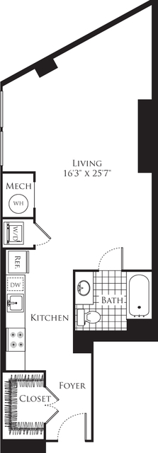 Studio, Silver Spring Rental in Washington, DC for $1,739 - Photo 1