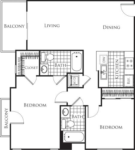 2 Bedrooms, Wilshire Center - Koreatown Rental in Los Angeles, CA for $3,385 - Photo 1