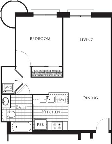 1 Bedroom, Wilshire Center - Koreatown Rental in Los Angeles, CA for $2,088 - Photo 1
