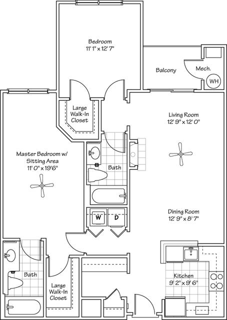2 Bedrooms, Landmark - Van Dorn Rental in Washington, DC for $2,059 - Photo 1