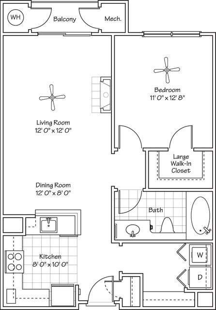 1 Bedroom, Landmark - Van Dorn Rental in Washington, DC for $1,746 - Photo 1