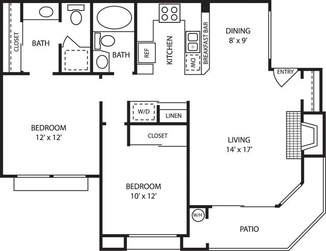 2 Bedrooms, Vista del Lago Apartments Rental in Los Angeles, CA for $3,162 - Photo 1