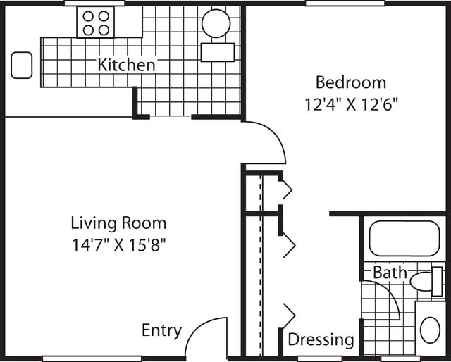1 Bedroom, Goldenwest Rental in Los Angeles, CA for $2,127 - Photo 1