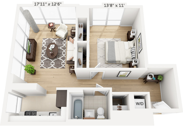 1 Bedroom, Manhattan Valley Rental in NYC for $2,816 - Photo 1