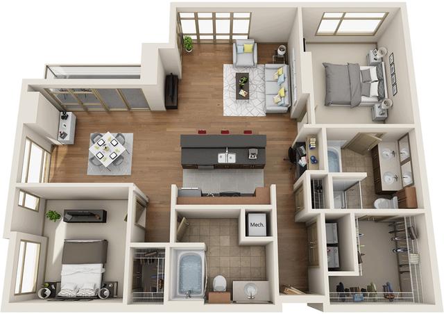 2 Bedrooms, University City Rental in Philadelphia, PA for $4,717 - Photo 1