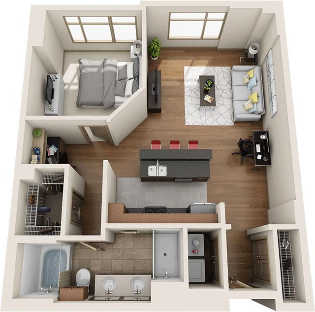 1 Bedroom, University City Rental in Philadelphia, PA for $2,386 - Photo 1