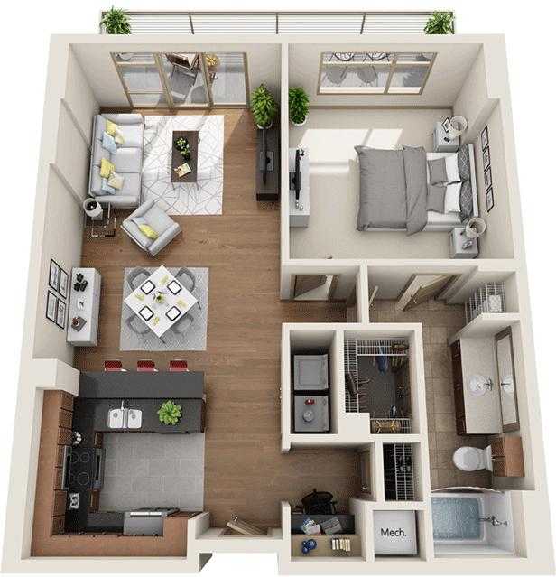 1 Bedroom, University City Rental in Philadelphia, PA for $2,682 - Photo 1
