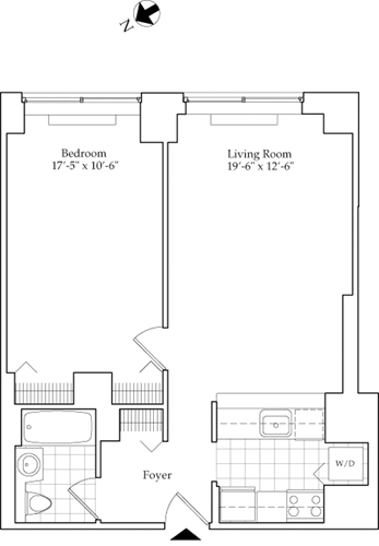 1 Bedroom, Lincoln Square Rental in NYC for $3,544 - Photo 1