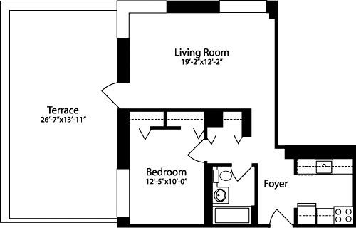 1 Bedroom, Hell's Kitchen Rental in NYC for $3,072 - Photo 1