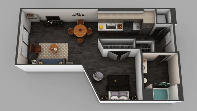 Studio, Little Tokyo Rental in Los Angeles, CA for $1,695 - Photo 1