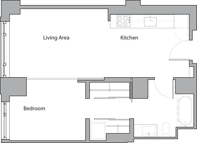 1 Bedroom, Shawmut Rental in Boston, MA for $2,975 - Photo 1