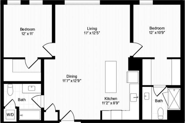 2 Bedrooms, Harrison Lenox Rental in Boston, MA for $4,570 - Photo 1