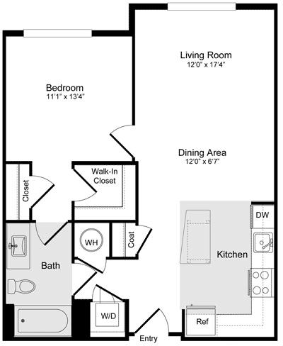 1 Bedroom, Braddock Road Metro Rental in Washington, DC for $1,932 - Photo 1