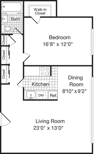 1 Bedroom, Woodley Park Rental in Washington, DC for $2,022 - Photo 1