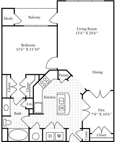 1 Bedroom, Montgomery Rental in Washington, DC for $1,845 - Photo 1
