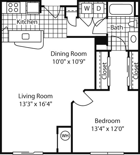1 Bedroom, Chillum Rental in Baltimore, MD for $1,890 - Photo 1