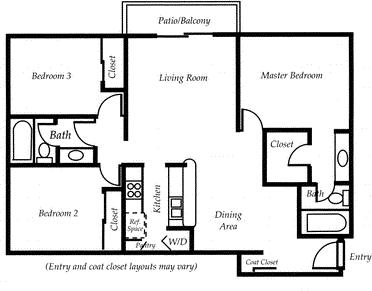 3 Bedrooms, Woodland Hills-Warner Center Rental in Los Angeles, CA for $3,156 - Photo 1