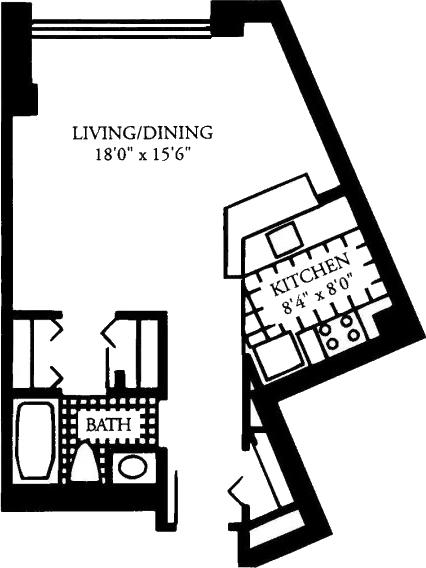 Studio, Malden Center Rental in Boston, MA for $2,225 - Photo 1
