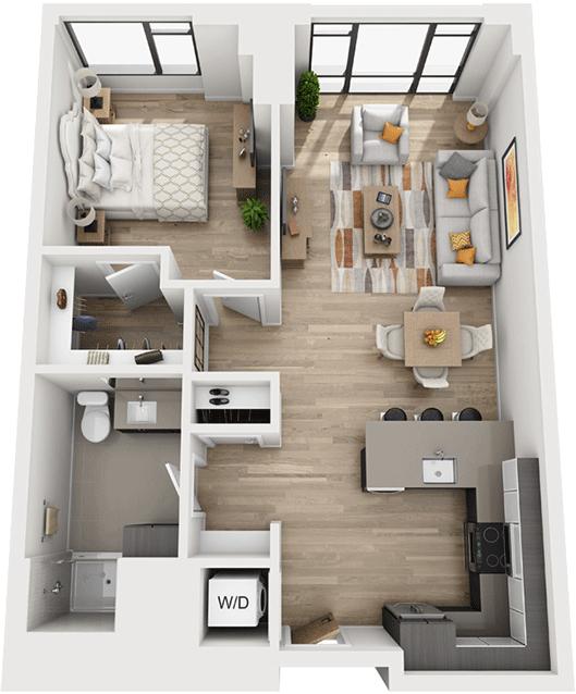 1 Bedroom, Shawmut Rental in Boston, MA for $3,669 - Photo 1